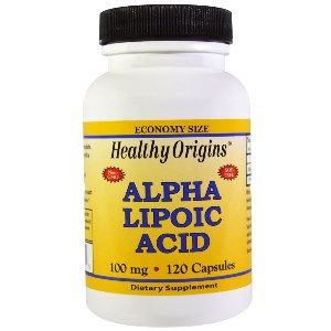 Alpha Lipoic Acid 100mg (120 capsules) Healthy Origins